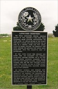 Image for FIRST - Marked Grave in Lipscomb Cemetery - Lipscomb County, TX