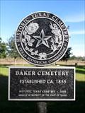 Image for Baker Cemetery