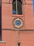 Image for Town Clock at the 2nd Congregational Church - Attleboro, Massachusetts