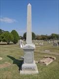 Image for Carroll - I.O.O.F. Cemetery - Denton, TX