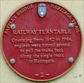 Image for Railway Turntable, Nidd Walk, Pateley Bridge, N Yorks