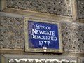 Image for Site of Newgate, City of London, UK