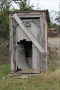 Image for The Grapetown School Outhouse -- Grapetown TX