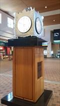Image for Albuquerque Sunport Tin Clock - Albuquerque, NM