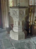 Image for Font, St Peter's, Powick, Worcestershire, England