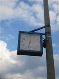 Image for PKP Choszczówka railway clock - Warsaw, Poland
