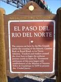 Image for El Paso Del Rio Del Norte