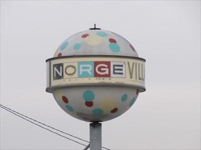 Norge Village, Pane 2, San Gabriel, California