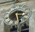 Image for Clock, St John the Baptist, Crowle, Worcestershire, England
