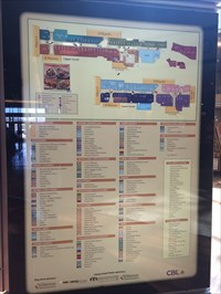 Coolsprings Galleria Mall Directory Map You Are Here Maps on