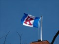 Image for Flag of University of Kansas - Fraser Hall - Lawrence, Ks.