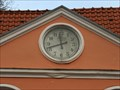 Image for Clock at the gable of Maximilianstraße 80, Speyer - RLP / Germany