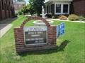 Image for Saint Rita's RC Church Sign - Connellsville, Pennsylvania
