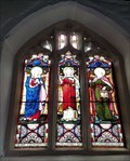Image for Stained Glass Windows - St Michael - Kniveton, Derbyshire