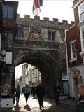Image for Cut Benchmark-High Street Gate, Salisbury Cathedral