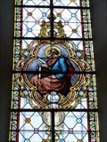 Image for Fenster der Kuratiekirche Mariä Himmelfahrt - Hirnsberg, Lk Rosenheim, Bayern, D