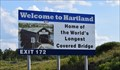 Image for Home of the World's Longest Covered Bridge - Hartland, NB
