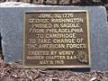 Image for George Washington Passed Through Here - Agawam, MA