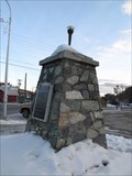 Image for Robert Laurence Binyon 'For The Fallen' - Royal Canadian Legion Cenotaph - Kimberley, British Columbia