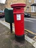 Image for Victorian Pillar Box - Percy Road - Leytonstone - London - UK