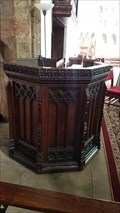 Image for Pulpit - Holy Cross church - Byfield, Northamptonshire, UK