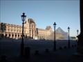 Image for La pyramide du Louvre - Paris - France