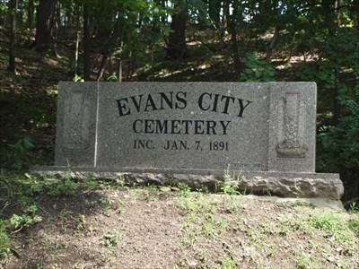 evans city cemetery evans city pa worldwide cemeteries on