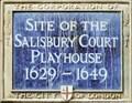 Image for Salisbury Court Playhouse - Dorset Rise, London, UK