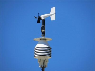 LHS Weather Station, CLose-Up, Berkeley, CA