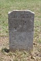 Image for EARLIEST Marked Grave in Mitchell Bend Cemetery - Hood County, TX