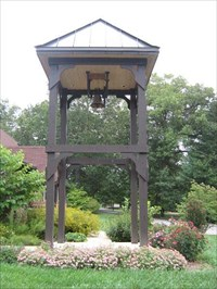 The bell with mounting area