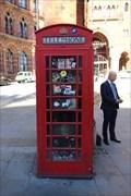 Image for Red Telephone Box - Euston Road, London, UK