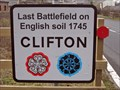 Image for Last Battle in England 1745 - Clifton, Cumbria UK