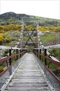 Image for Horseshoe Bend Suspension Bridge — Rigney, New Zealand
