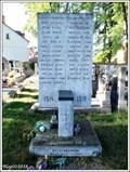 Image for Pomnik Obetem I. svetove valky - Veselí nad Lužnicí, CZ