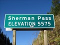 Image for Sherman Pass - 5575'
