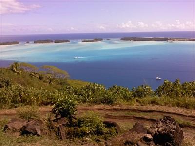 Guns Of Bora Bora World War Ii Sites On Waymarkingcom