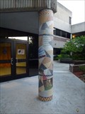 Image for Honors Hall Mosaic Column #1 - Jacksonville, FL