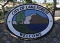 Image for Welcome Sign - Lake Forest, CA