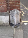Image for A329 Broad Street milestone, Wokingham, Berks