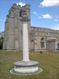 Image for Memorial to Queen Elizabeth the Queen Mother, St Paul's Walden, Herts, UK