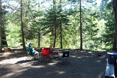 Cedar Springs Campground - Chinook Pass, WA - Campgrounds on