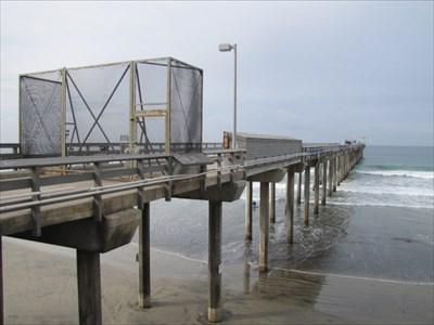 Scripps Pier from the Right, La Jolla, CA
