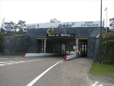 Hoofdingang van het circuit