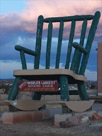Excellent Worlds Largest Rocking Chair Penrose Co Roadside Gmtry Best Dining Table And Chair Ideas Images Gmtryco