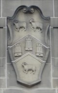 Image for Borough Coat of Arms On Central Library - Huddersfield, UK