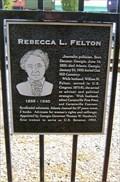 Image for Rebecca L. Felton - Cartersville, GA