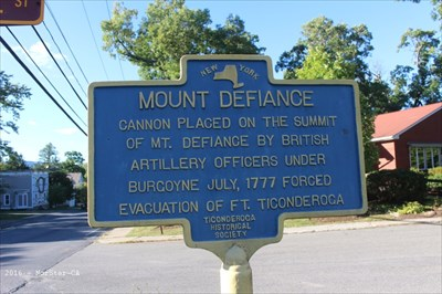 Mount Defiance Ticonderoga Ny New York Historical Markers On Waymarking