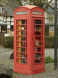 Image for Free Community Book Exchange in a Red Telephone Box, Villiprott - NRW / Germany