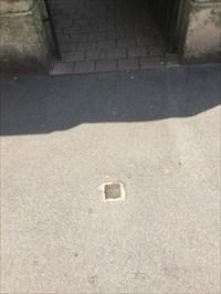 Stolpersteine on Walkway, Heidelberg, Germany